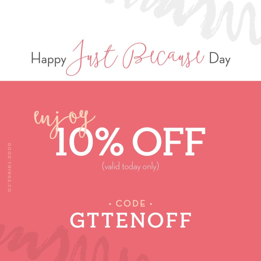 Good Things Promo Code GTTENOFF