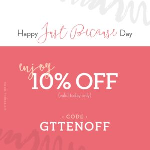 Promo Code GTTENOFF for Good Things