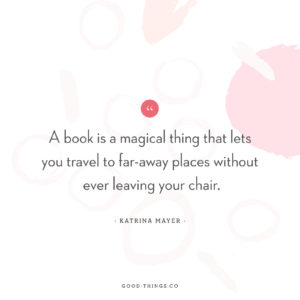Good Words - A Book is a Magical Thing